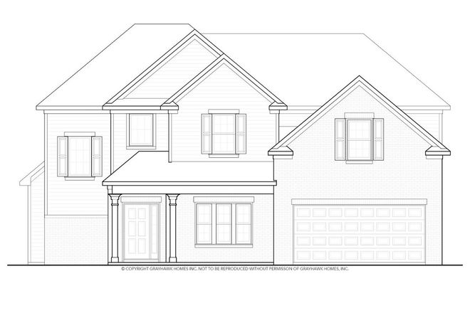 Ready To Build Home In River Brook Community