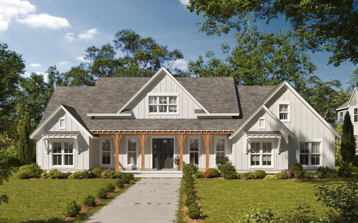 Ready To Build Home In The Highlands of Chelsea Community