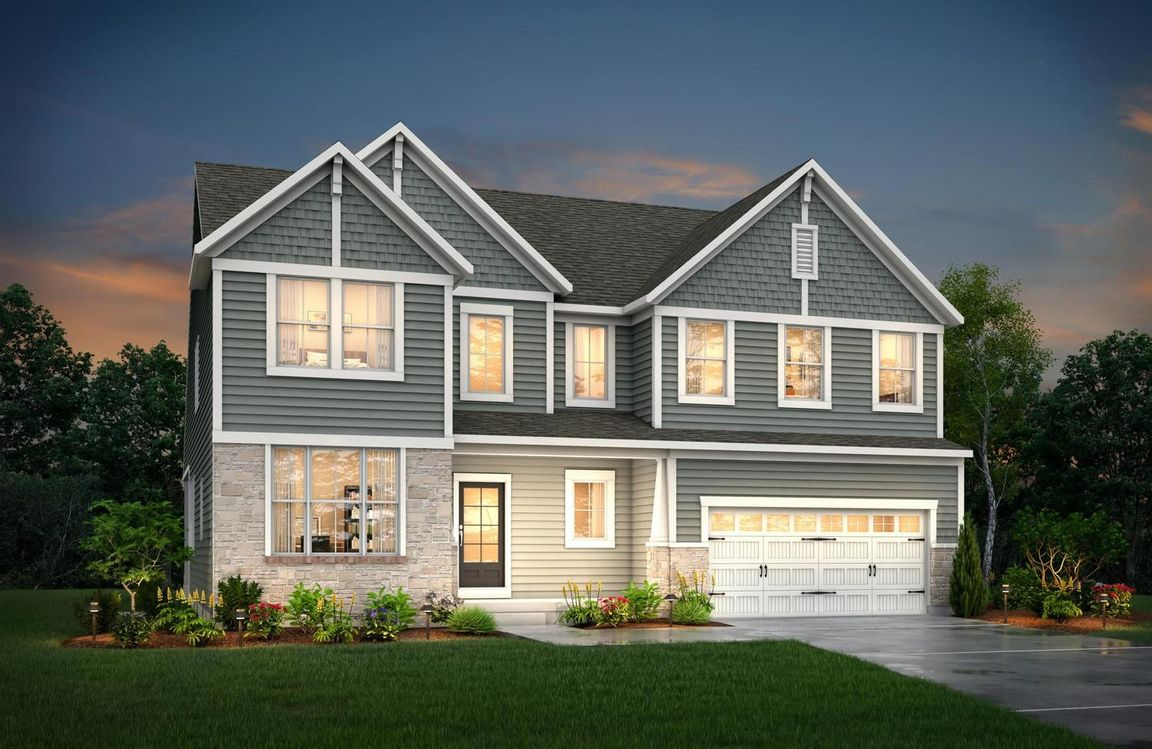 Ready To Build Home In Wolf Run Community