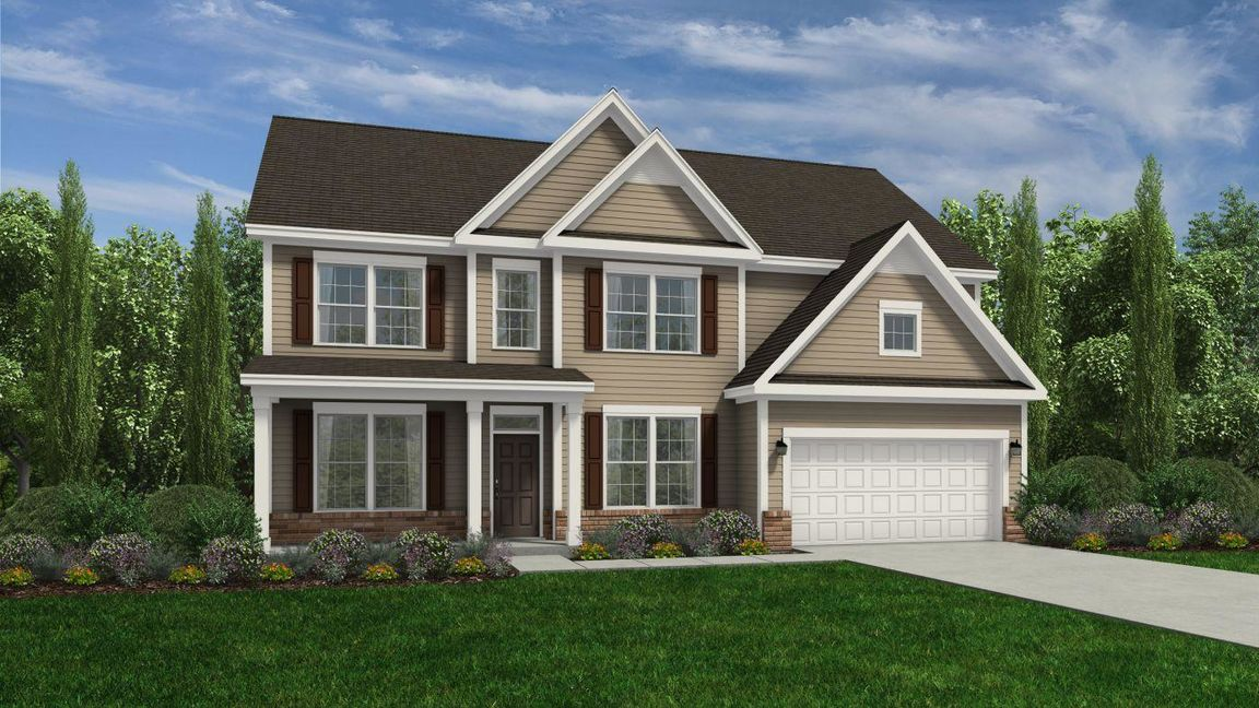 Ready To Build Home In Autumnwood Community