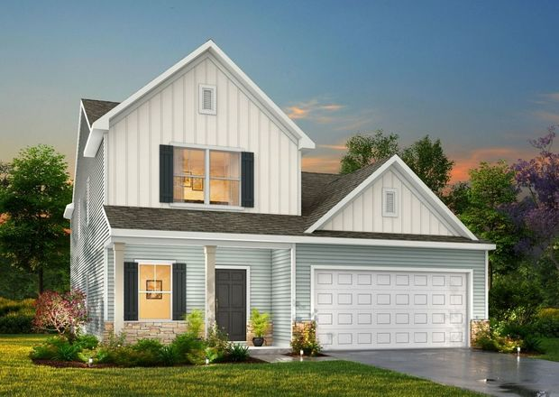 Ready To Build Home In Huntington Valley Community