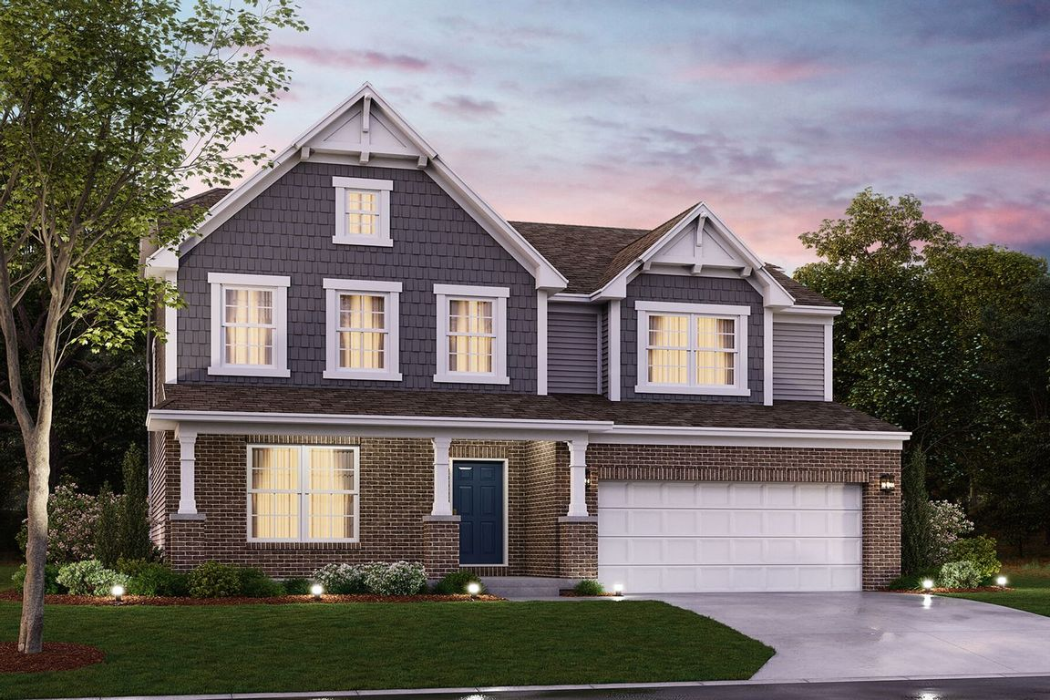 Move In Ready New Home In Cedarbrook Farm Community