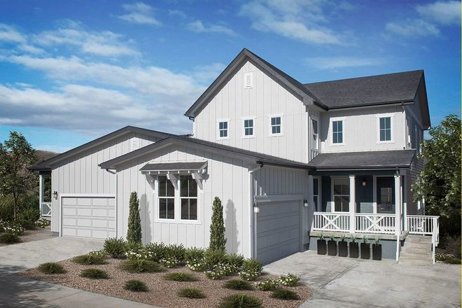 Ready To Build Home In Azure Villas at The Meadows Community