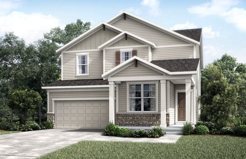 Ready To Build Home In North Bluffs - Expressions Collection Community