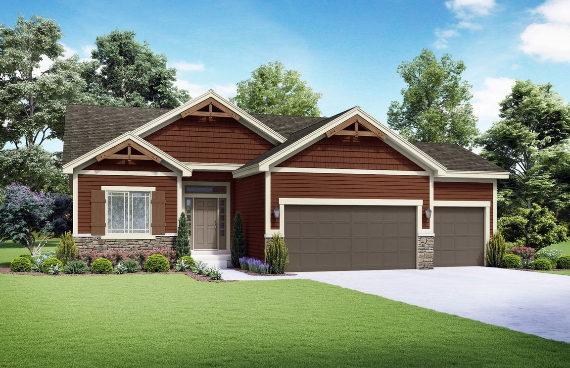 Ready To Build Home In Care-Free at Southpointe Community
