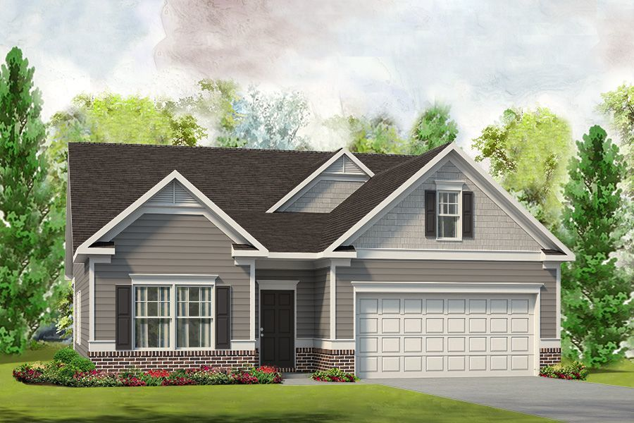 Ready To Build Home In Lantern Pointe Community