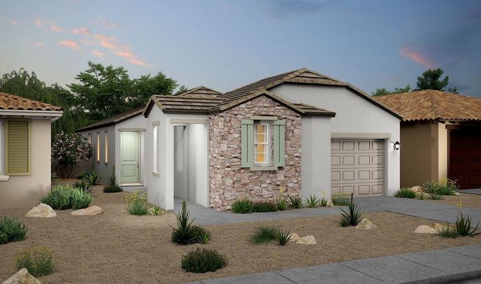 Ready To Build Home In K. Hovnanian's Four Seasons at Sun City West Community