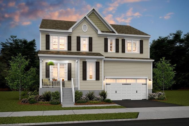 Ready To Build Home In Oaks at Glenwood Community