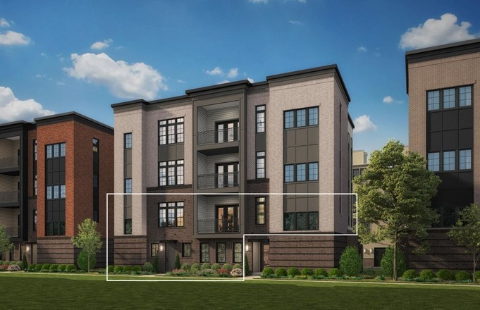 Ready To Build Home In Metro Walk at Moorefield Station - Flats Community