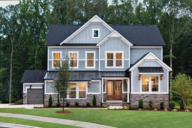 Ready To Build Home In Embrey Mill Estates Community