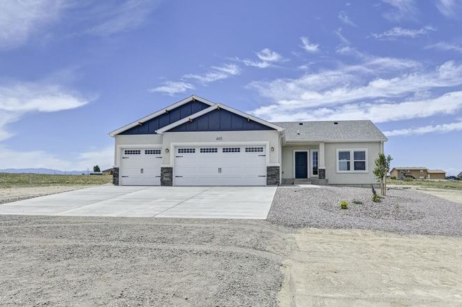 Move In Ready New Home In Pueblo West Community
