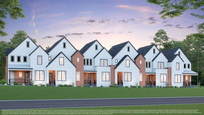 Ready To Build Home In Mueller - Courtyard Row Community