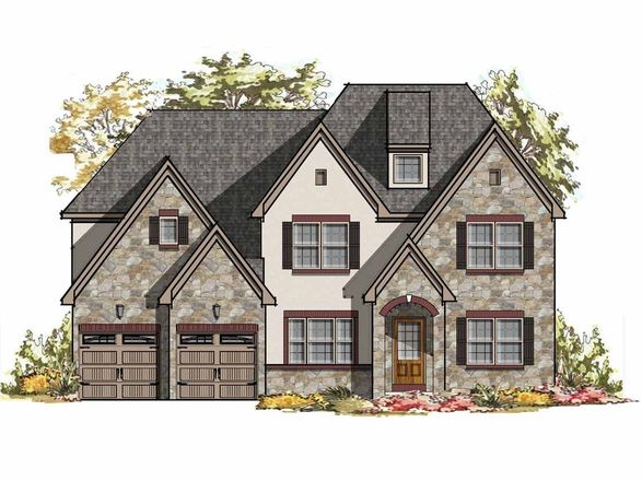 Ready To Build Home In Glenwood Chase Community