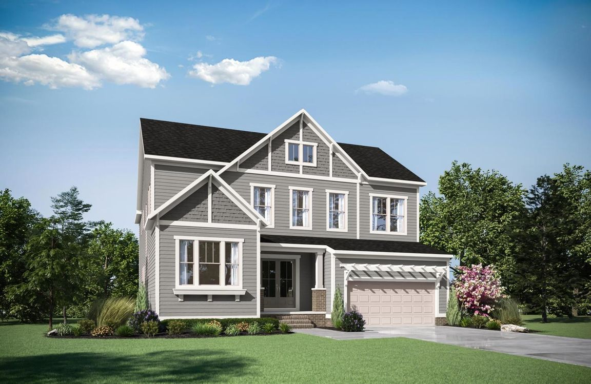 Ready To Build Home In Homestead at Leesville Reserve Community