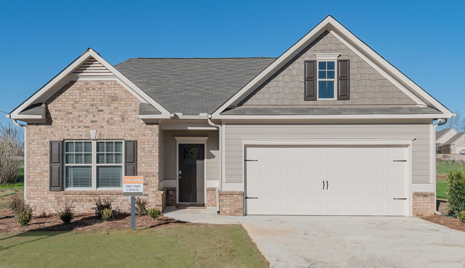 Ready To Build Home In Cottages At Moore's Mill Community