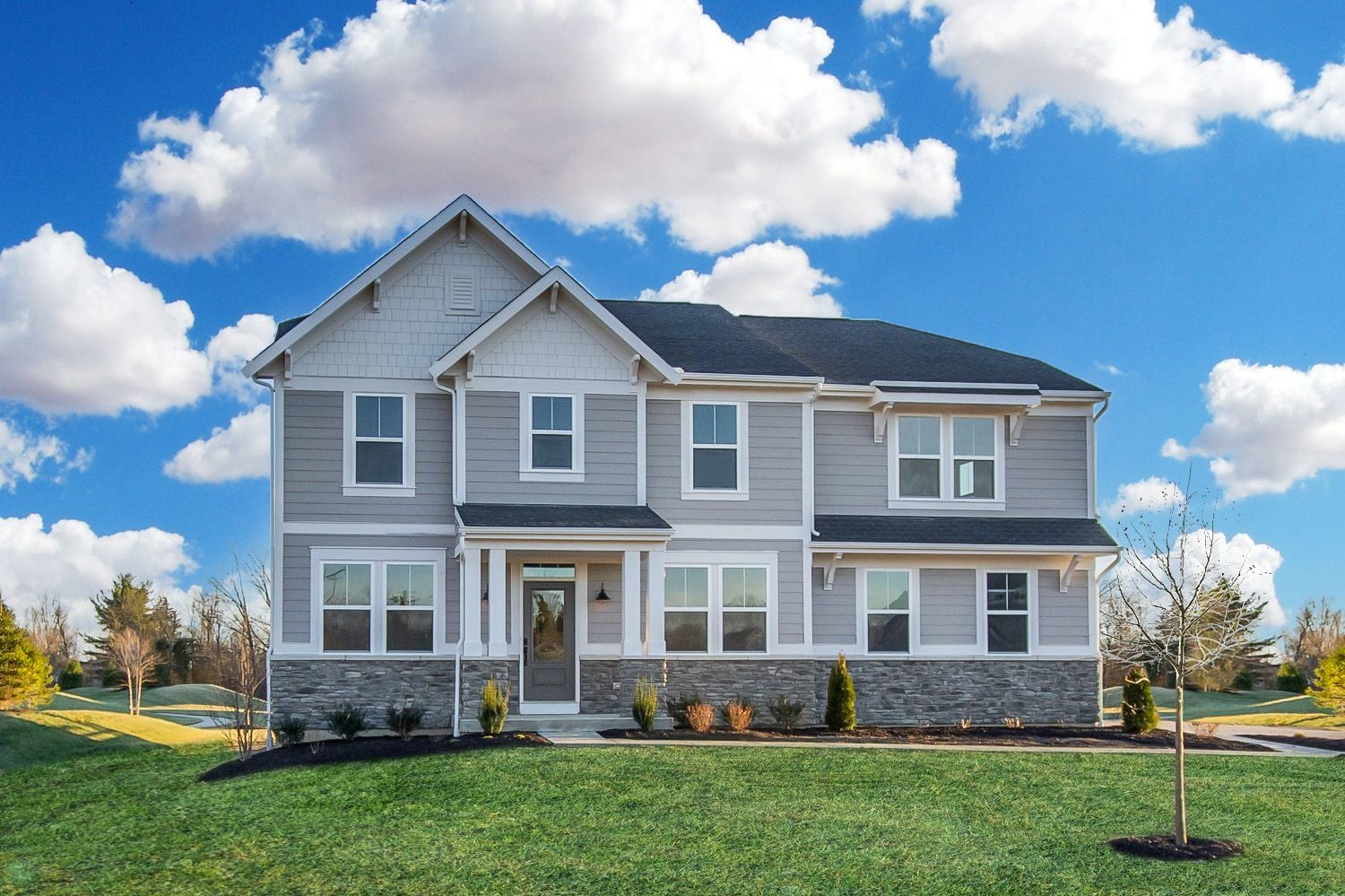 Ready To Build Home In Aberdeen Community