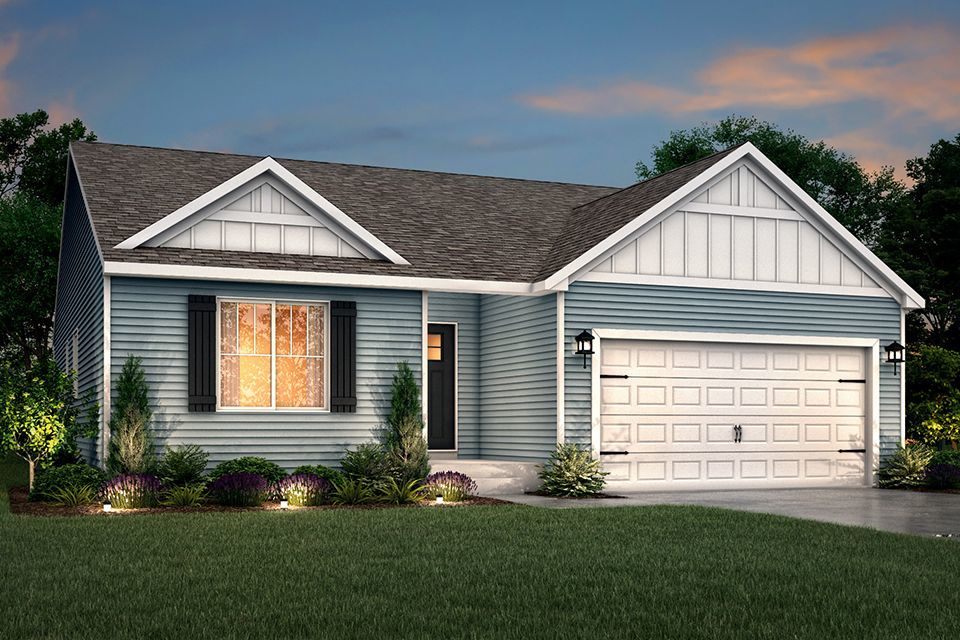 Ready To Build Home In Pawton Meadows Community