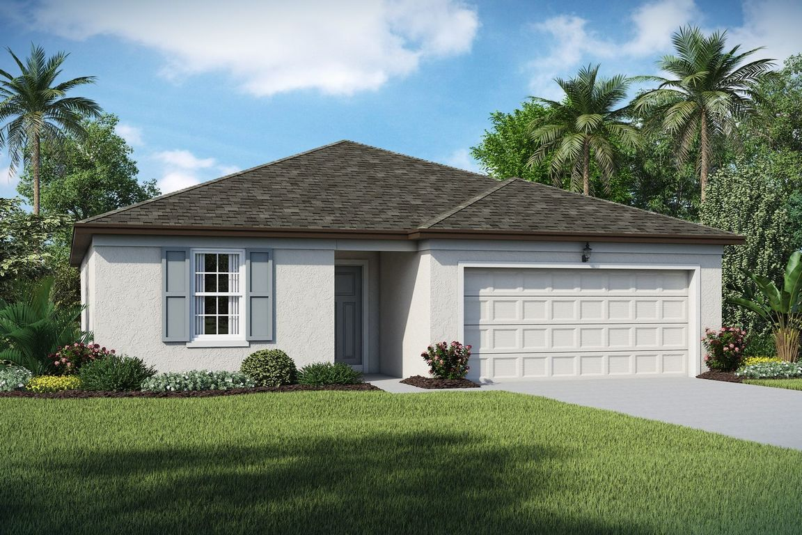 Ready To Build Home In Aspire at Port St. Lucie Community