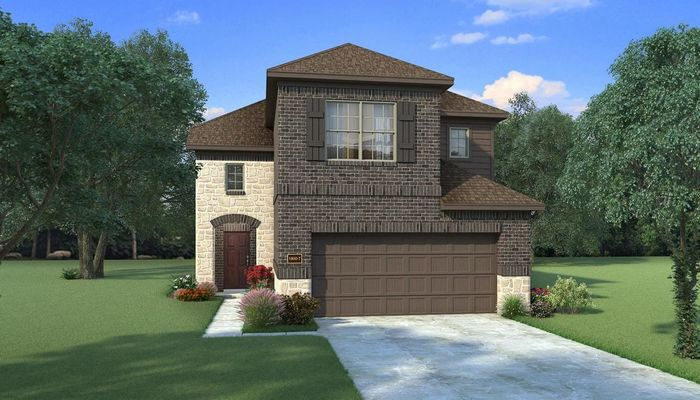 Ready To Build Home In Klein Grove Community
