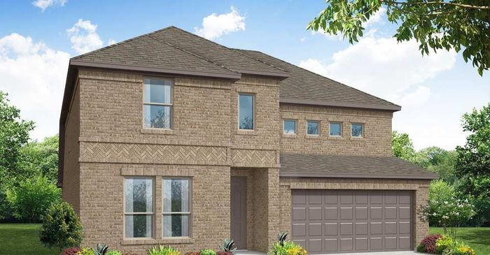 Ready To Build Home In Argyle Crossing Community