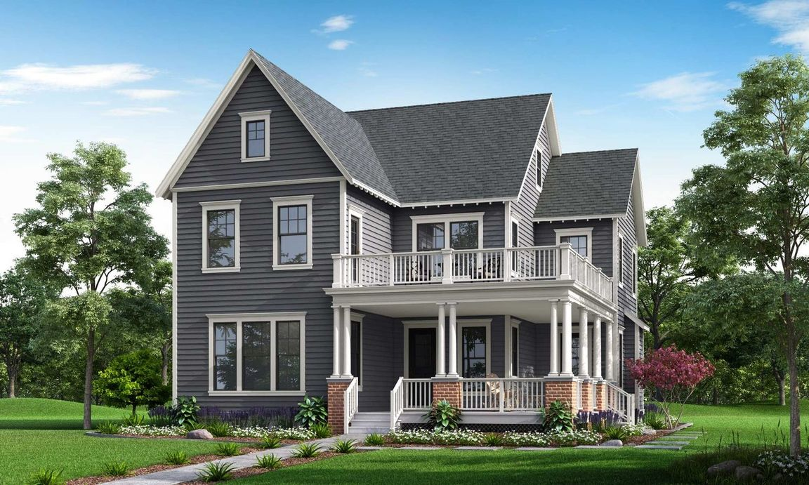 Ready To Build Home In Parkwood Homes at Daybreak Community