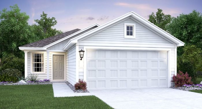 Move In Ready New Home In Braun Landing Community