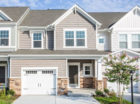Move In Ready New Home In Watermark Townhomes Community