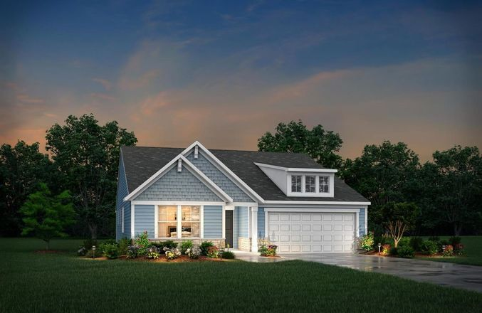 Ready To Build Home In Enclave at North Ridge Pointe Community