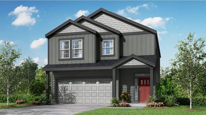 Ready To Build Home In Gales Creek Terrace - The Cascade Collection Community