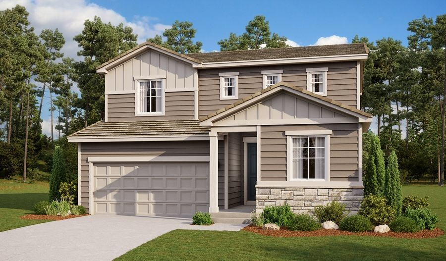 Ready To Build Home In The Trails At Aspen Ridge Community