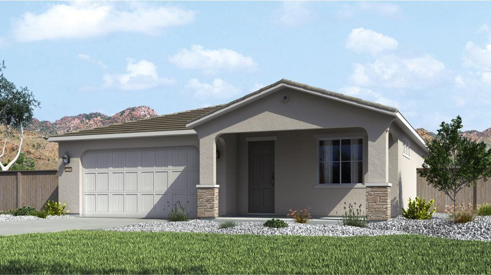 Ready To Build Home In Weser Creek at Heybourne Meadows Community