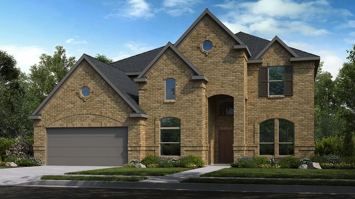 Ready To Build Home In The Woodlands, Mariposa Woods 65s Community