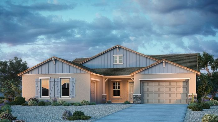 Ready To Build Home In Gardener's Enclave Summit Collection Community