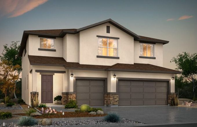 Ready To Build Home In Sandstone View Community