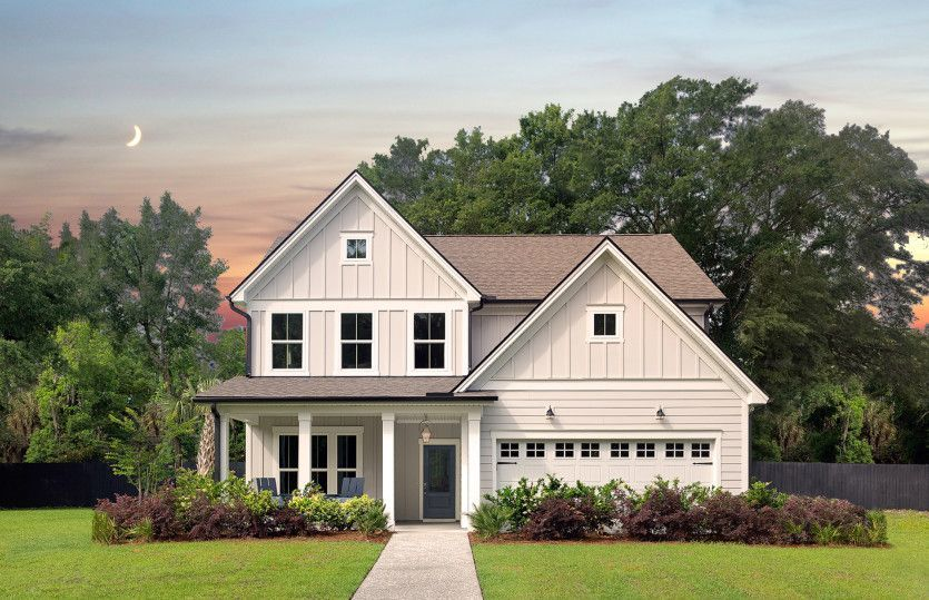 Ready To Build Home In Norwood Chase Community
