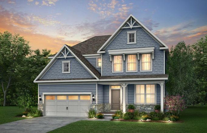 Ready To Build Home In Renaissance Park at Geauga Lake Community