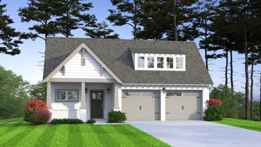 Ready To Build Home In Halcyon Community