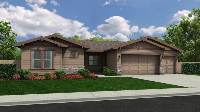 Ready To Build Home In The Oaks North - Woodland Community