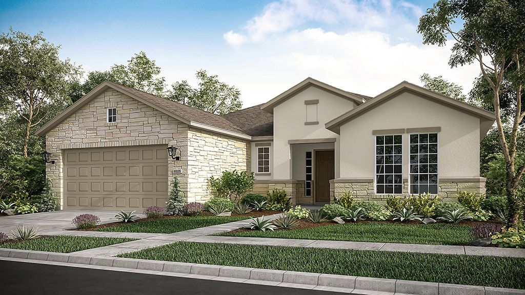 Ready To Build Home In Parten 65s Community