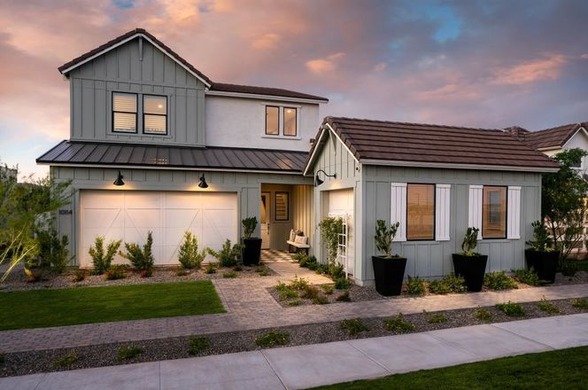 Ready To Build Home In Toll Brothers at Cadence - Montage Collection Community