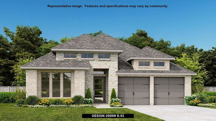 Move In Ready New Home In Meridiana 50' Community