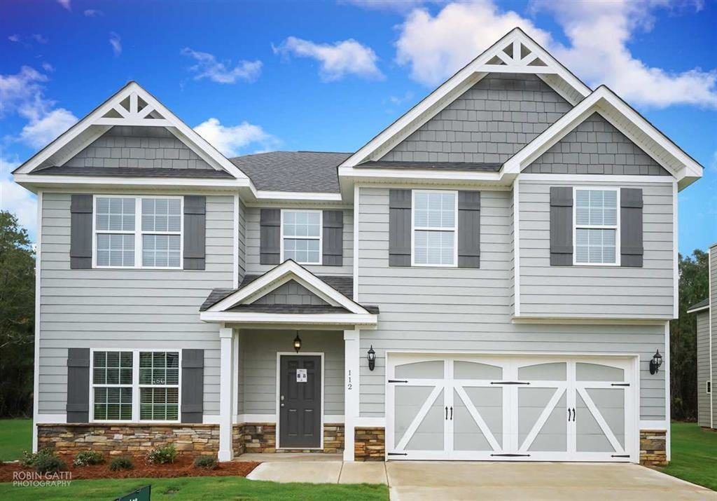 Ready To Build Home In Juliette Crossing Community