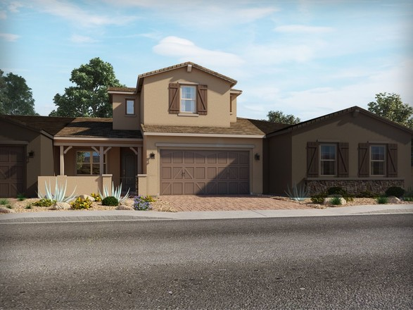 Move In Ready New Home In Vistas at Palm Valley - The Villas Community