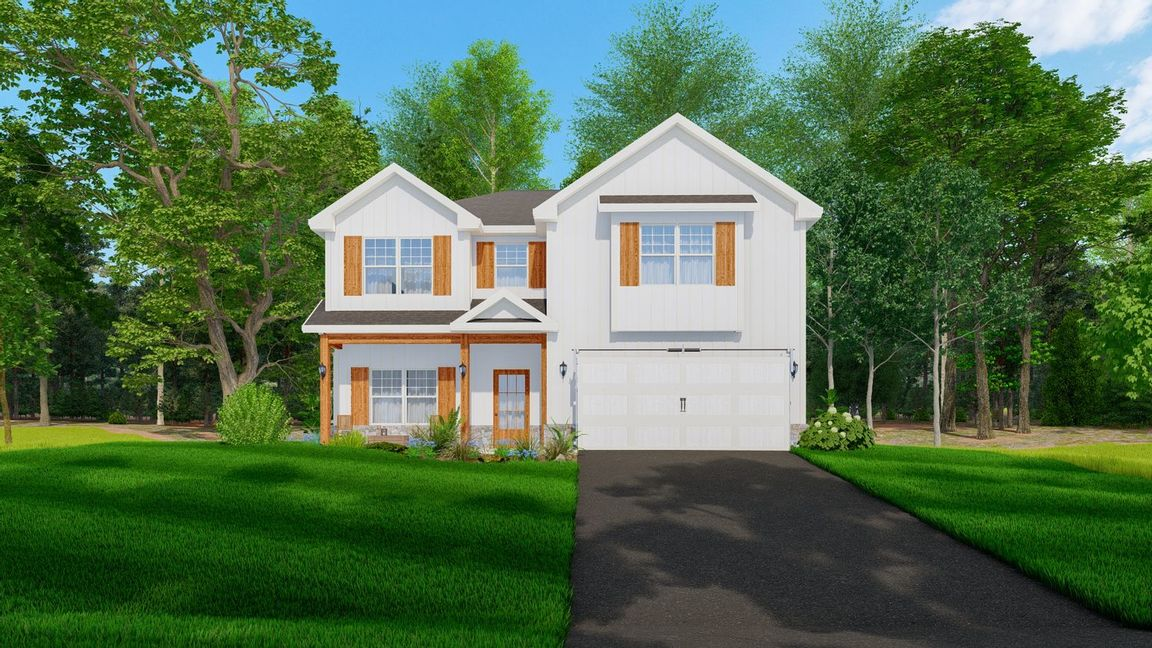 Ready To Build Home In Wimberly Station Community
