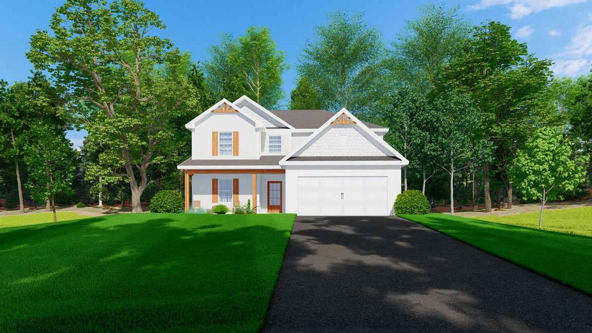 Ready To Build Home In Mossy Meadows Community