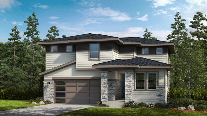 Ready To Build Home In Timberline City Collection Community