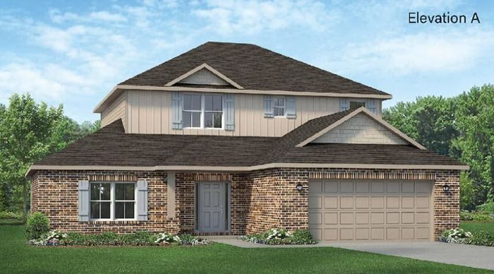Ready To Build Home In Grand Oaks Reserve Community