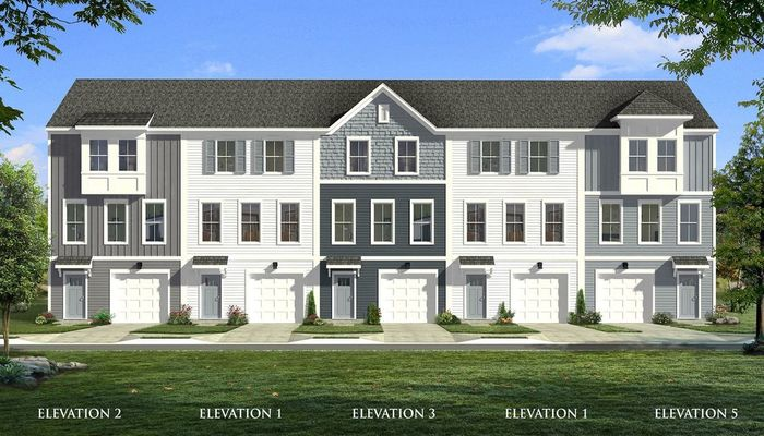 Ready To Build Home In Park Circle Station Community