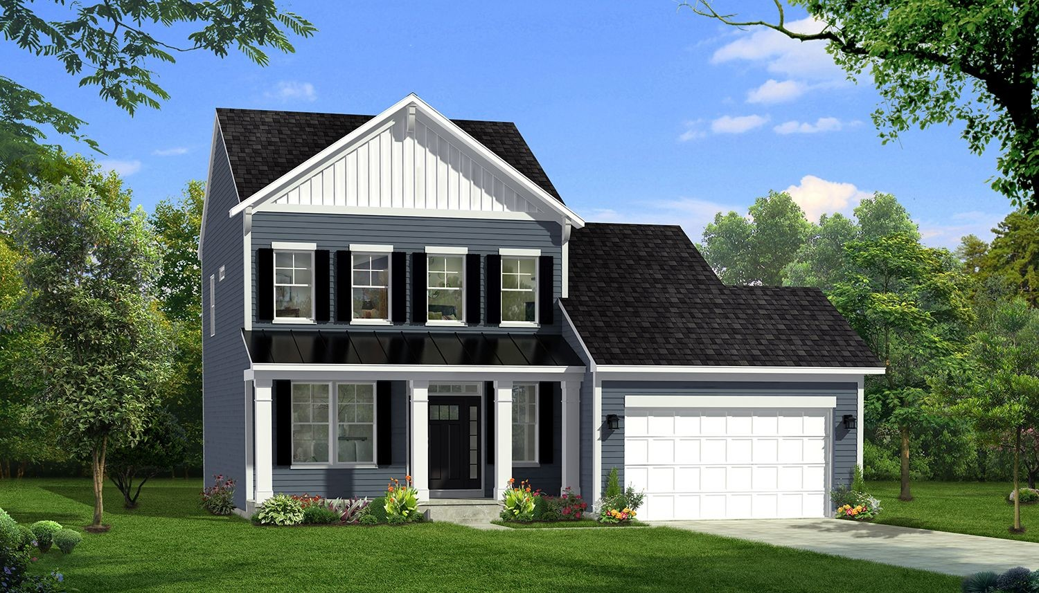 Ready To Build Home In Freedom Manor Single Family Homes Community
