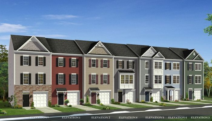 Ready To Build Home In Freedom Manor Townhomes Community